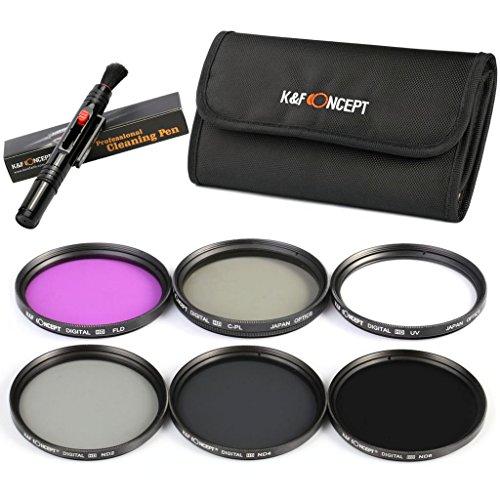 05ES-Pack de Filtro UV+CPL+FLD+ND2+ND4+ND8 (40.5mm)