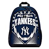 MLB New York Yankees Backpacklightning Backpack, Team Colors, One Size