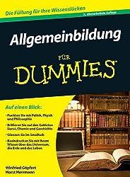 Allgemeinbildung für Dummies Buch
