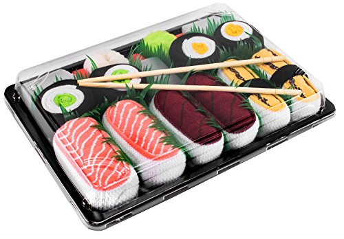 La box Rainbow Socks chaussettes sushi