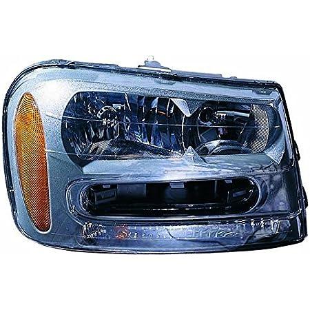 2009 Chevrolet TRAILBLAZER-RH WO AIR CURTAIN Inside Post mount spotlight Passenger side WITH install kit -Black Larson Electronics 0909P4PG3GS 100W Halogen 6 inch