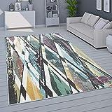 Alfombra Salón Pelo Corto Moderno En Colores Pastel, Distintos Colores Y Tamaños, tamaño:120x170 cm, Color:Multicolor 5