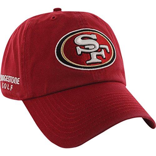 Bridgestone NFL Golf Hats, 49ers Team Color, One Size