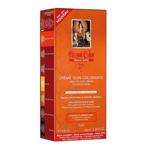 henné Color: Flamboyant Copper (Cobre) – Base de henna (100 ml)
