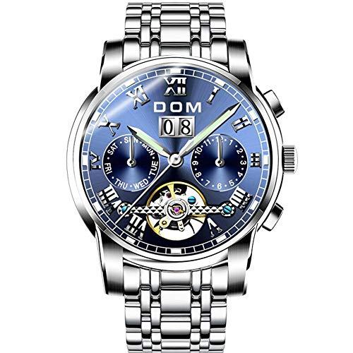Multifunktionale leuchtende automatische mechanische Uhr Herrenuhren Sport wasserdichte Uhr Herren Marke Luxus Mode Armbanduhr-Stil: 2