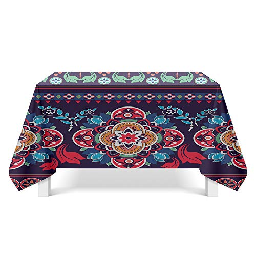 VITALITY Wipe clean Japanese simple tablecloth,small fresh coffee table tablecloth,Nordic rectangular tablecloth 85X85cm