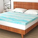 Mattress Topper, 3 Inch Gel Memory Foam Mattress Topper for Queen Size Bed