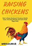Raising Chickens: How to Raise Backyard Chickens, Health Care, Choosing Breeds and Have Fresh Eggs Daily