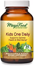 MegaFood, Kids One Daily, Daily Multivitamin and Mineral Dietary Supplement with Vitamins, C, D and Folate, Non-GMO, Veget...