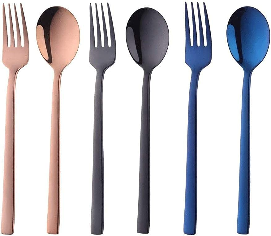 Pho spoon Soup Ladle Color Stainless Direct sale of manufacturer Steel Round Max 52% OFF Spoons Sp