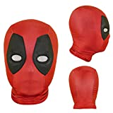 Halloween Mask Superhero Spider Masks Cosplay Costumes Mask Spandex Fabric Material (Adult mask, 07)