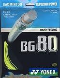 YONEX BG80 Badmintonsaitenset -