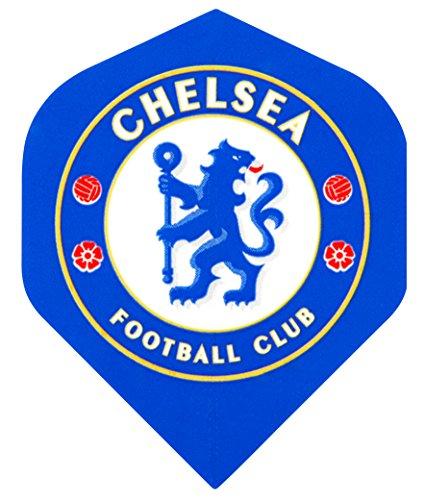 F2046 Chelsea Football Club Dart Flights- 3 Sets pro pack (9 flights insgesamt).