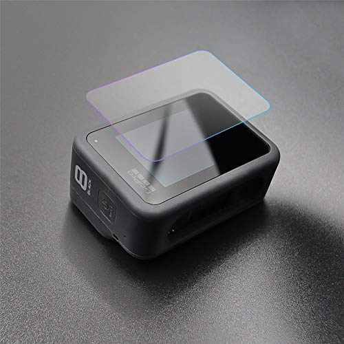 ETbotu 2 Set glasfolie, compatibel met Startrc displaybeschermfolie compatibel met GoPro Hero 8 zwart sportcamera displaybeschermfolie accessoires voor camera van gehard glas