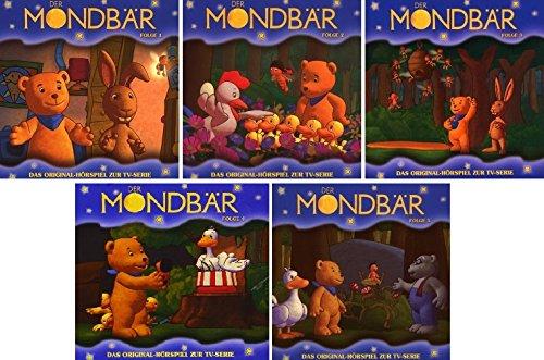 Der Mondbär - Original Hörspiel zur TV-Serie - Folge 1-5 im Set - Deutsche Originalware [5 CDs]