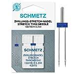 SCHMETZ - Aguja elástica para máquina de Coser (4,0 x 75 cm)