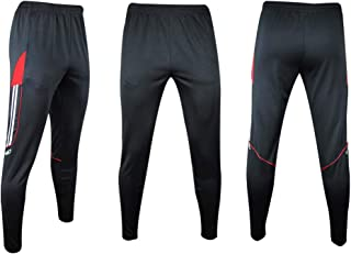 Shinestone Sport Pants, Men Athlete Sports Jogger Training Track Fitness Casual Pants Trousers with Zippered Pockets