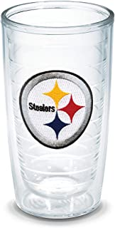 Tervis NFL Pittsburgh Steelers Individual Emblem Tumbler, 16 oz, Clear -