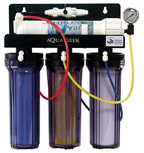 1日で680Lの純水を作れる浄水器 クロノスレイン 逆浸透膜+DI 海水