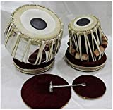 Akshar Tabla Mart Best of Beginner Tabla Set Steel Bayan Shisham Wood Dayan with Bag Hammer Gadiset & plastic Gatta