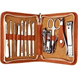 FAMILIFE F03 Manicure Set, Pedicure Kit Nail Clipper Set 13pcs...
