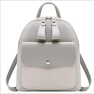 FYXKGLa Girls Mini Backpack Crossbody Shoulder Bag Large Capacity Backpack Leisure Bag (Color : Gray)