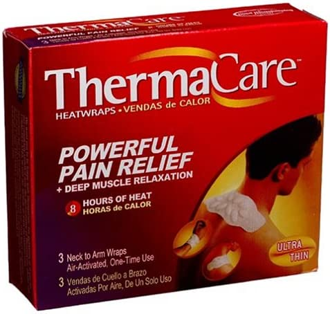 ThermaCare Air-Activated Neck to Arm Heatwraps P Boxes Japan's Ranking TOP19 largest assortment 3-Count