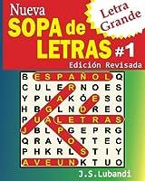 Nueva Sopa De Letras (Word Search in Spanish)