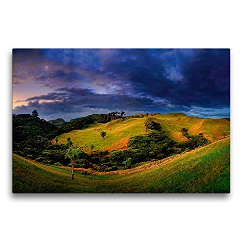 Premium Textil-Leinwand 75 x 50 cm Quer-Format Cape Farewell, Südinsel, Neuseeland | Wandbild, HD-Bild auf Keilrahmen, Fertigbild auf hochwertigem Vlies, Leinwanddruck von Michael Rucker