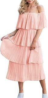 Best strapless tiered dress Reviews