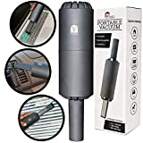Cordless Mini Vacuum Cleaner - USB Rechargable Lithium Battery Handheld Vacuum Sucking and Blowing for Cleaning Dust, Car, Laptop, Piano, Computer Keyboard, Desk, Hairs and Crumbs (Portable Power)