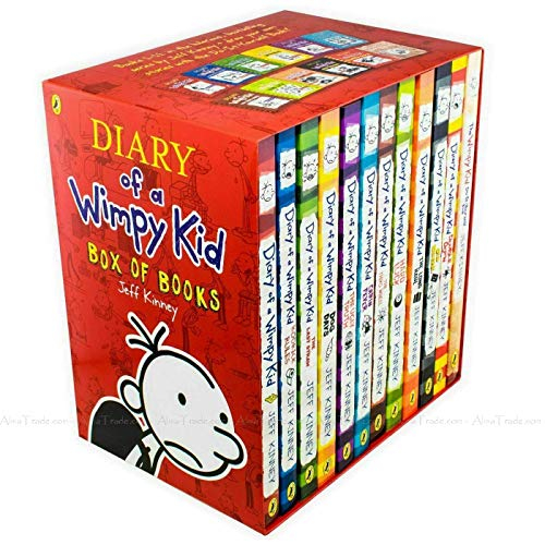 Diary of a Wimpy Kid 12 Books Complete Collection Set
