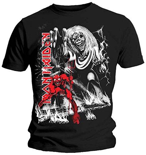 T-Shirt # Xl Black Unisex # Number Of The Beast Jumbo