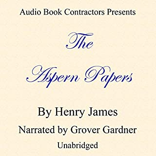 The Aspern Papers audiobook cover art