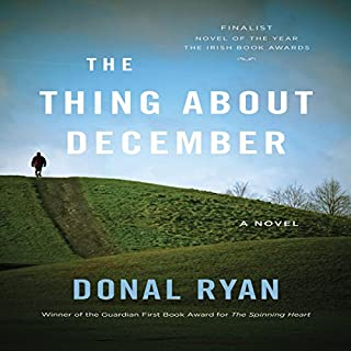 The Thing about December audiobook cover art