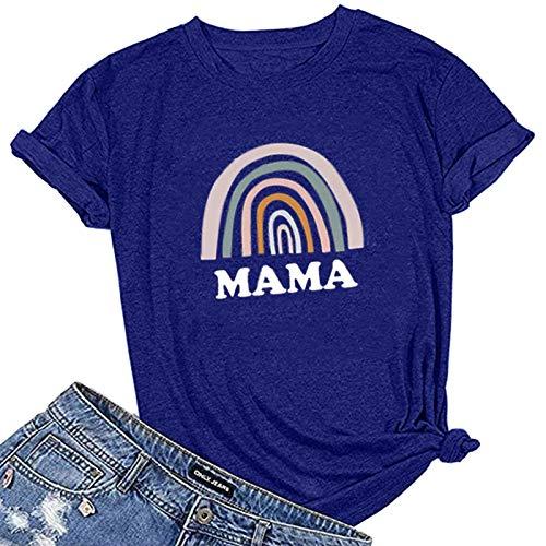 LAIYIFA Ladies Tops Letter Print Women Summer T Shirts Loose Comfortable Exhaust Perspiration Blouse Designer Sweatshirts Casual Tunic Girls Shirts Jumper