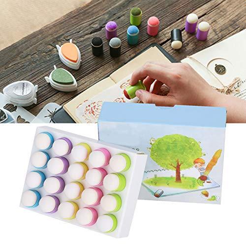 Finger Sponge, Easy To Use DIY Finger Sponge Daubers Easy To Sponge Material for Toddler Learning for Painting