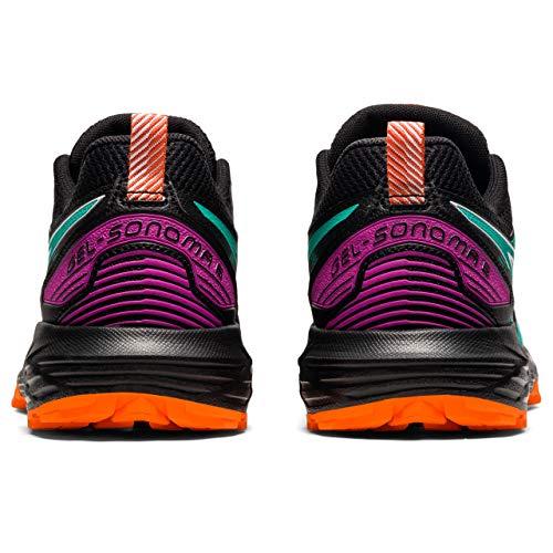 ASICS Gel-Sonoma 6, Zapatillas para Correr Mujer, Black Baltic Jewel, 39 EU