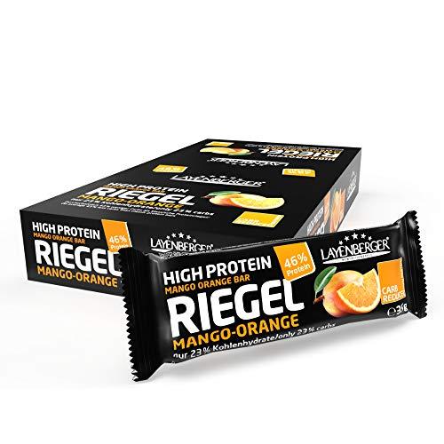 Layenberger High Protein Riegel Mango-Orange, (18 x 35 g)