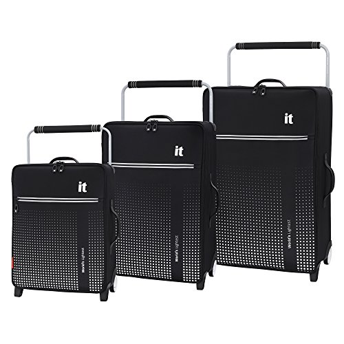 it luggage World's Lightest Vitalize 2-Wheel, Black, One Size