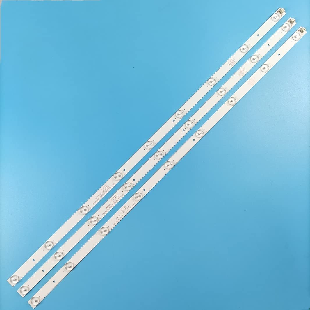 Replacement Part Max 50% OFF Popular standard for TV 1kit LED 3pcs Lamps Strip Backlight