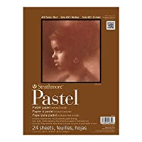 Pro-art Strathmore Assorted Color Pastel Paper Pad 11-inch x 14-inch, 24 Sheets