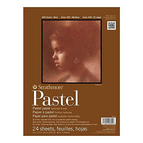 Strathmore Wandbild Sortiert Farbe Pastel Paper Pad, 27,9cm x 35,6cm, 24Blatt