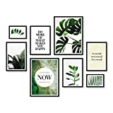ARTFAVES Poster Set - Elegante BOTANIK | Deko Monstera