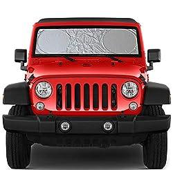 powerful Jeep Wrangler Gladiator JLJK Wrangler Bicon Toyota Fj compatible windshield sun visor …