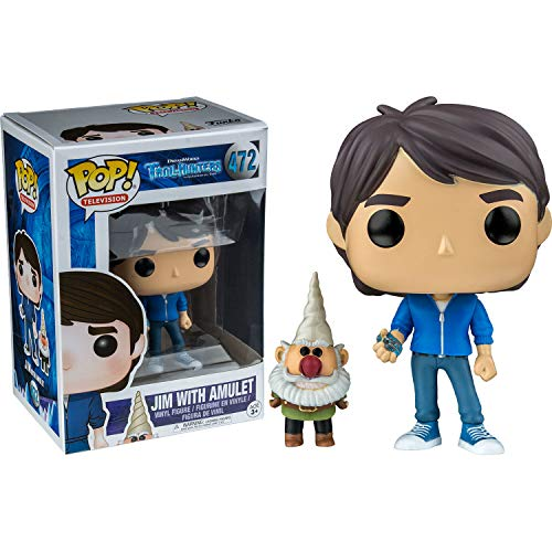 Funko Pop 14397 Trollhunters Jim with Amulet Exclusive, 9 cm