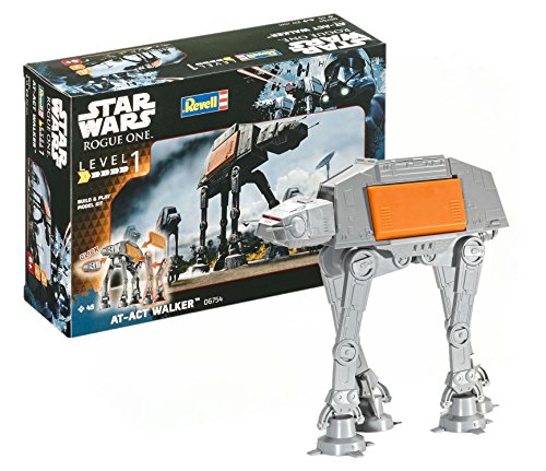 Revell Star Wars AT-Act Walker, Kit de Plug-in Simple con...