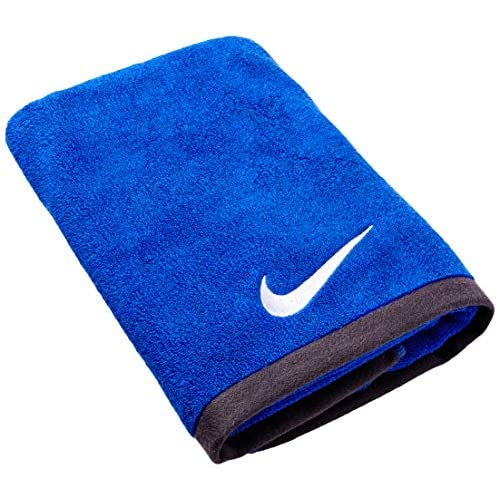 Nike Fundamental Towel, Asciugamani Unisex-Adulto, Varsity Royal/White, M