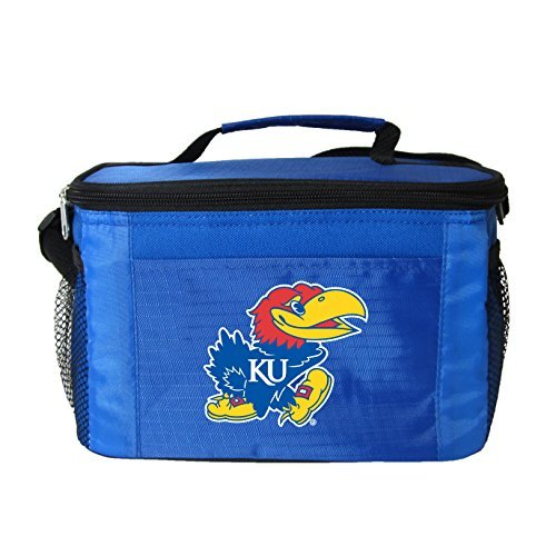 New NCAA College 2014 Team Color Logo 6 Pack Lunch Tote Bag Cooler Pick Team