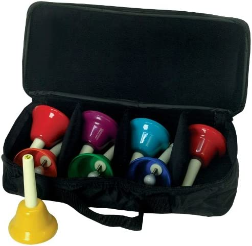 West Music 8-Note Limited time sale Diatonic Handbell Case w Set New product! New type